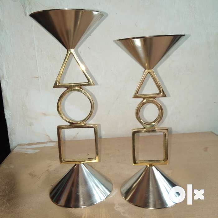 Pure brass candle stand set 0
