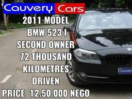 BMW 5 Series 523i, 2011, Diesel