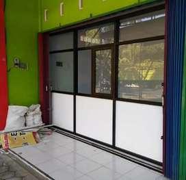 Partisi kaca toko dan ruangan kerja .261