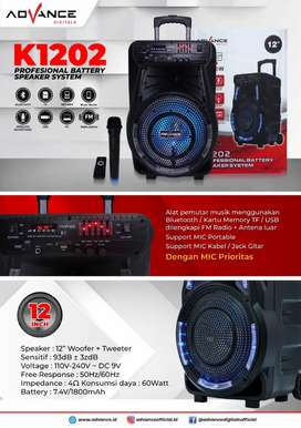 Speaker Bluetooth Advance K1202 new
