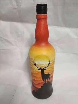 Bottles for making bottle art