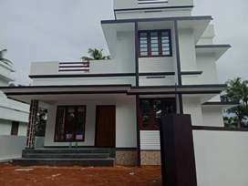 5 cent 1350 sqft 3 bhk new build house aluva near West veliyathnadu