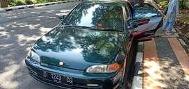 Bismillah jual mobil honda Genio manual tahun 1994 warna hijau
