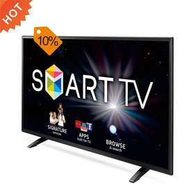 UHD Tv 43 inch with Gorela Glass wifi smart Woofer