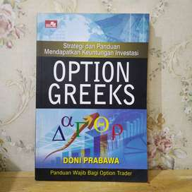 Buku Option Greeks Doni prabawa