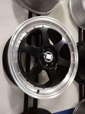 velg mobil model ring 17 black polish