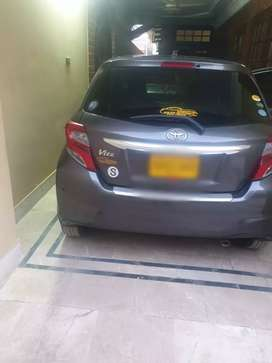 Toyota Vitz 15/19 available for sell 10/10 condition home used car