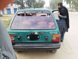 suzuki mehran 97 lush condition