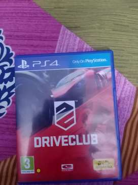 Driveclub for play station 4 and pro