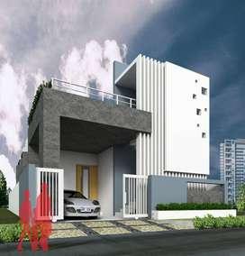 Gated mini community Independent Housing Colony at pendurthi