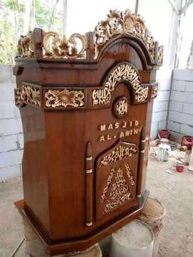 mimbar masjid model sekarang new