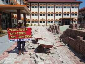 pusat konblok conblock roster grass blok rumput paving block aspal