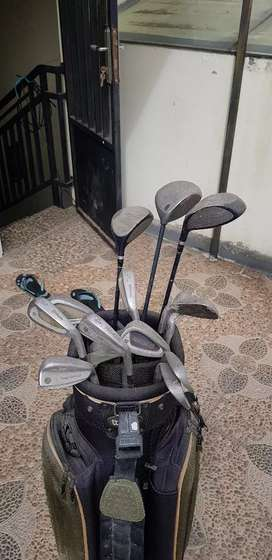Nego Stik golf lengkap wilson+pro king +big bertha callaway juga.