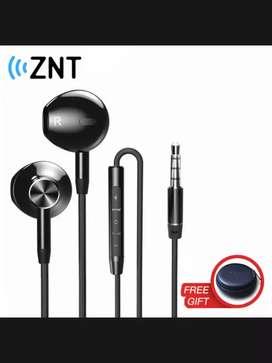 Headset earphone earbuds ZNT nirkabel stereo