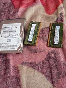 Toshiba hard disk ddr3ram