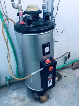Instant geyser 25 gallon almost new exchnge possible read description