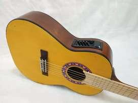 Gitar Akustik Elektrik 3/4 klaisk nilon