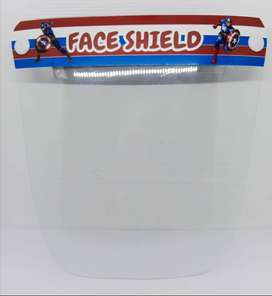 face shield anak superhero / face shied murah / face shield protection