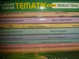 Buku Tematik kelas 1 sd tema 1 sd 8 plus soal latihan tematik
