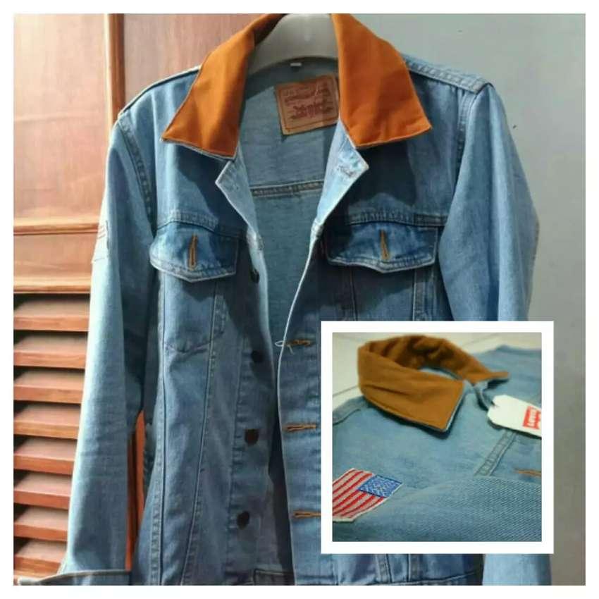 Baju distro murah ecer grosir jaket jeans dilan 0