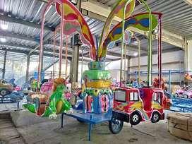 komedi putar safari odong kereta mainan pasar malam TERLENGKAP 11