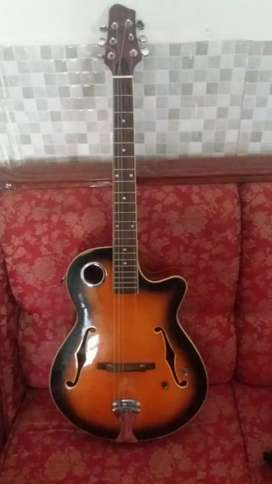 Gitar Mahogani akustik/elektrik