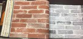 bricks wallpapers for home and offices new trendy fashion pvc panel