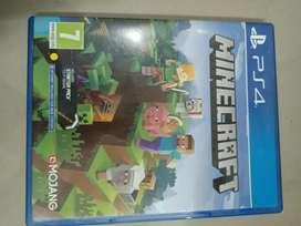 Minecraft game ps4