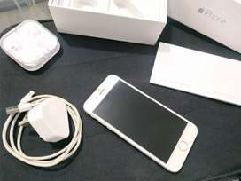 Jual iphone 6 silver 64gb