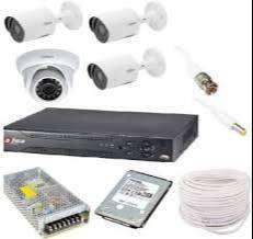4CH FULL HD  CCTV CAMERAS WITH INSTALLATION-