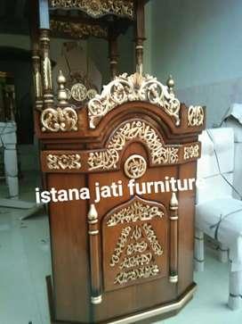Mimbar Masjid Mimbar pudium Ready stock