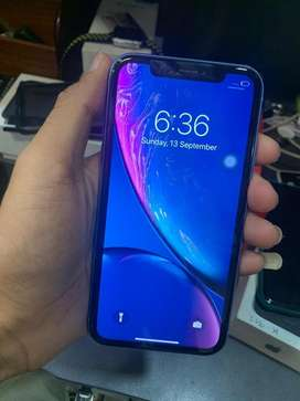 i phone xr blue