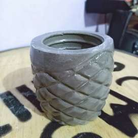 Pot Vas Bunga YNE05 Semen, Concrete Vas, Pot Murah