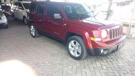 Dijual jeep patriot matic 4x4 2012.