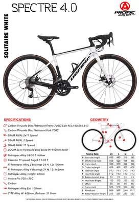 Roadbike Pacific Spectre 4.0 700c