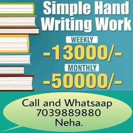 Novel writing job