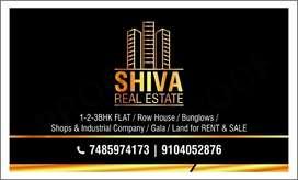 1bhk semi furnished flat sale at garden City silvassa