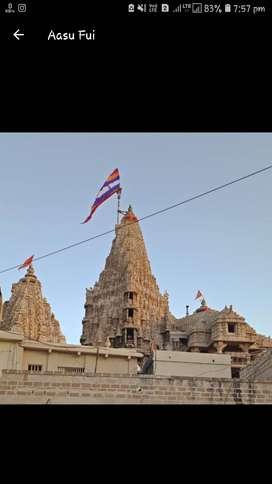 Plot in ashapura society surajkaradi mithapur