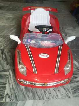 Baby car in just low price just ane week use