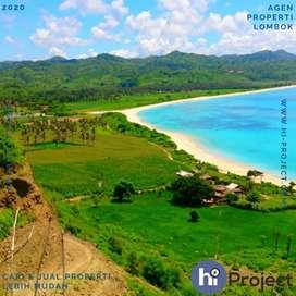 Tanah kavling pinggir Pantai Pengantap Sekotong Lombok barat T478