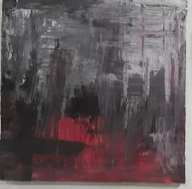 Canvàs abstract painting