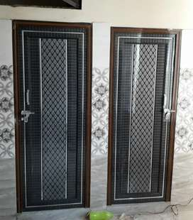 Bathroom doors new at veri reasonable price