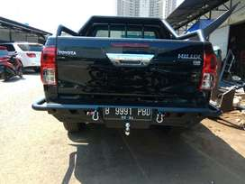 Bemper Belakang Double Cabin Hilux Revo Model JUNGLE
