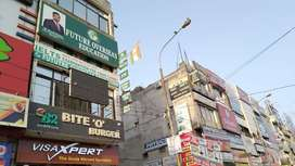 Tution market model town 1100 sqft space available on lease