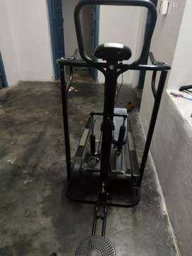 Manual 3+1 treadmill