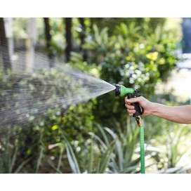Magic Hose Water Pipe For Garden & Car Wash 75ft - Green