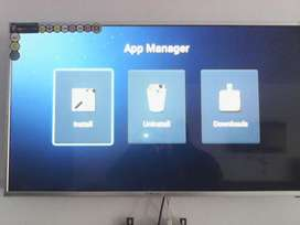 4k Led 75 inch smart uhd box pack 1 year warranty