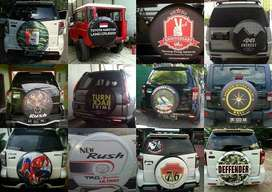 Cover/Sarung Ban Serep katana/jeep/CRV/Rush/Terios paket THR meriah  U