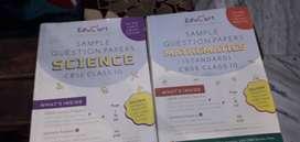 Cbse class 10 sample paper books