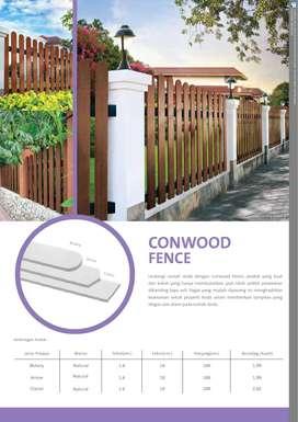 """Conwood Fence 4"""" Botany - 1 M (100 x 1000 x 16 mm)"""